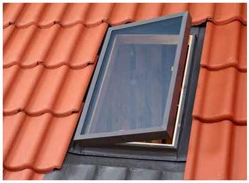 Вікно-люк зі склопакетом VLT 1000-033 (85x85 см)